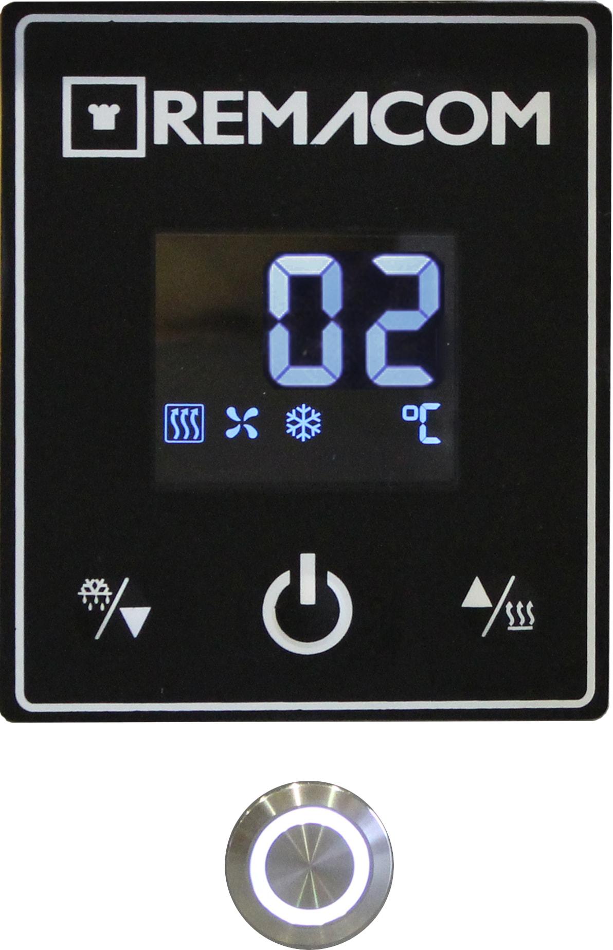 デジタル温度表示