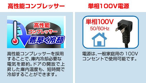 高性能コンプレッサー/単相100V電源