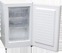 レマコムの前開き冷凍ストッカーの特長