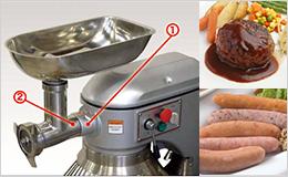 挽肉を簡単に作れるから、料理の幅が広がります