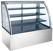 レマコムの対面冷蔵ショーケース 蛍光灯仕様の特長