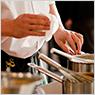 調理時間と人員の合理化が図れる