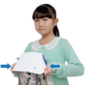 次世代型防災ずきん タタメットズキン3