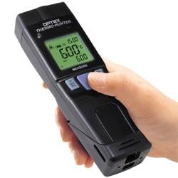 USB経由でデータをパソコンで管理!!長距離狭視野型非接触温度計PT-U80(USB出力付)