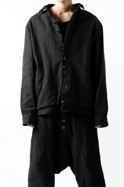 _vital work jacket / hand dye and wash fabric