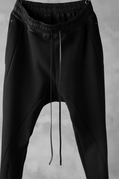 A.F ARTEFACT JACGUARD BALLOON WIDE PANTS