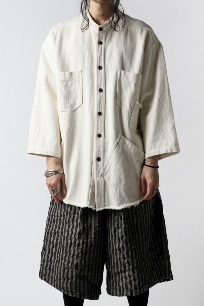 A.F ARTEFACT exclusive OVER SIZED SHIRT / LOW COUNT TWILL