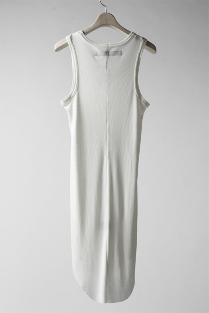 A.F ARTEFACT LONG RIB TANK TOP (WHITE)