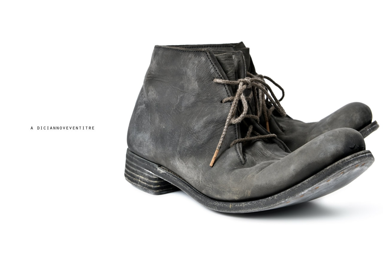 A DICIANNOVEVENTITRE A1923 ANKLE BOOTS / CAVALLO OILED