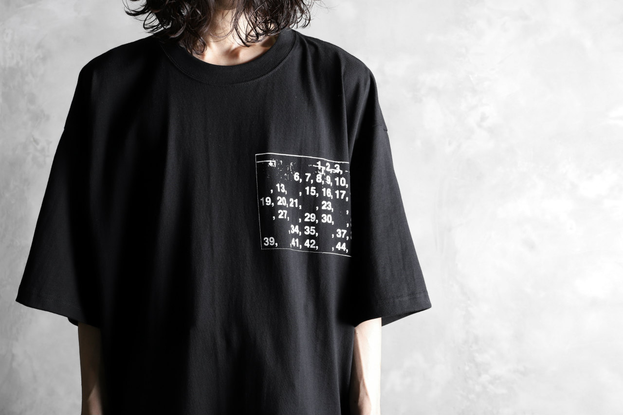 AVIALAE PRINT SHORT SLEEVE TEE / ANY NUMBERS