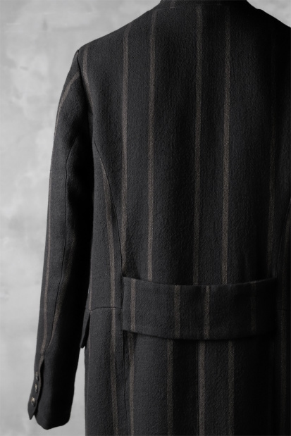 Aleksandr Manamis Double Breasted Stripe Coat