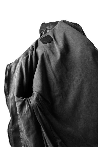 ISAMU KATAYAMA BACKLASH HIGH NECK LEATHER BLOUSON / BANGLADESH CALF