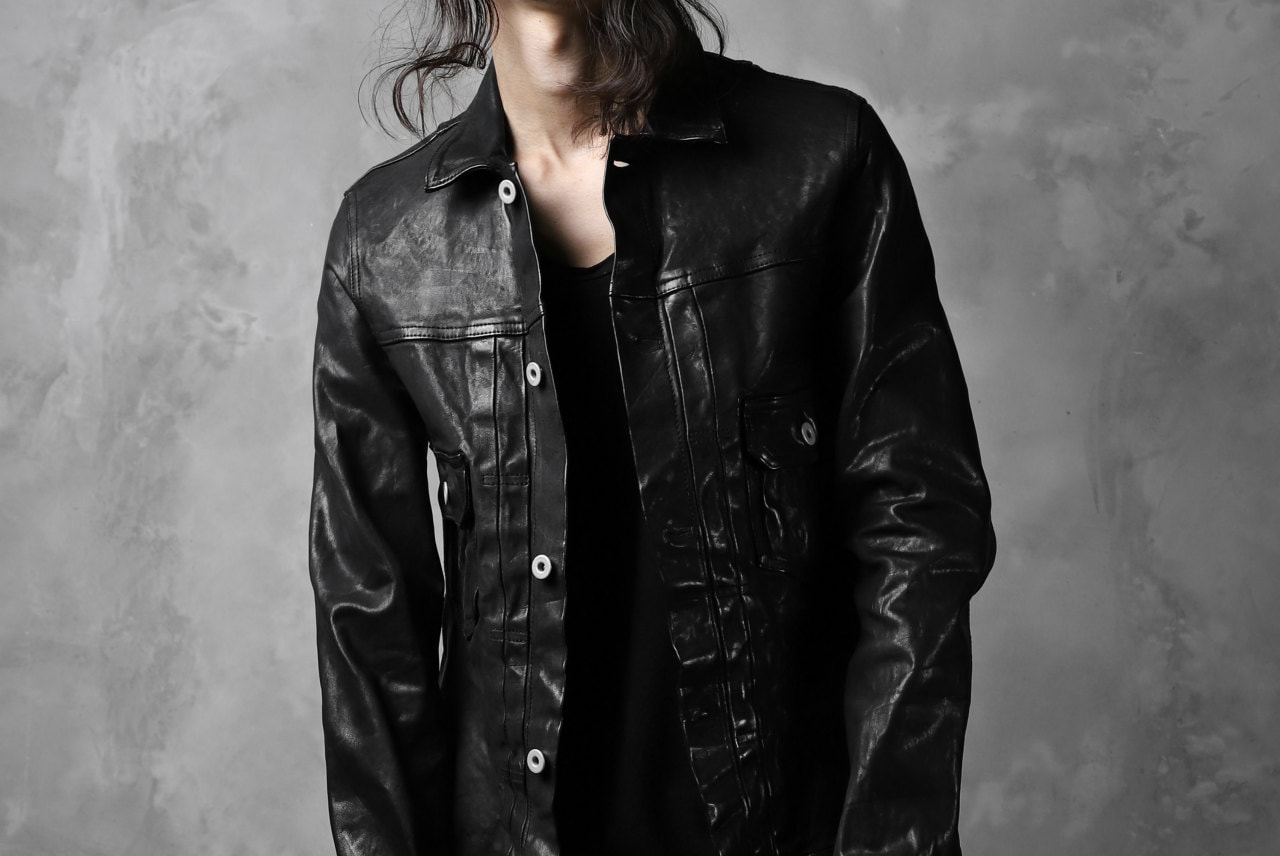 ISAMU KATAYAMA BACKLASH exclusive JEAN JACKET / OBJECT DYE