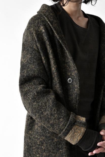 ISAMU KATAYAMA BACKLASH exclusive SHAWL COLLAR BUTTONED COAT