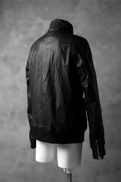 ISAMU KATAYAMA BACKLASH exclusive HIGH NECK BLOUSON / JP HORSE with RIB