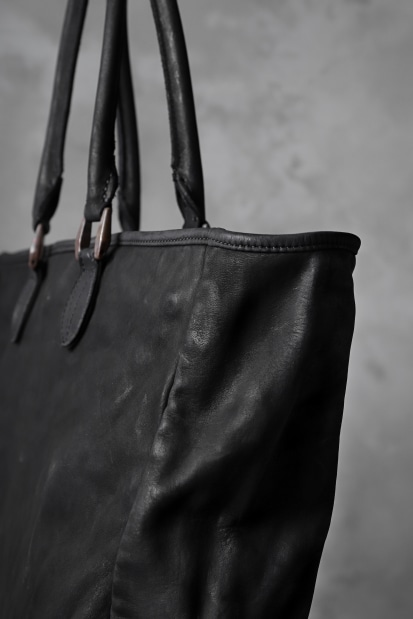 Isamu Katayama Backlash Tote bag (Object Dyed) / JP-Tanned Steer