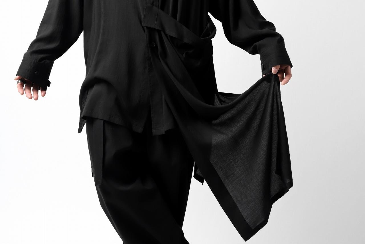 B Yohji Yamamoto B/FLUTTERING SHIRT (Tencel Stripe)