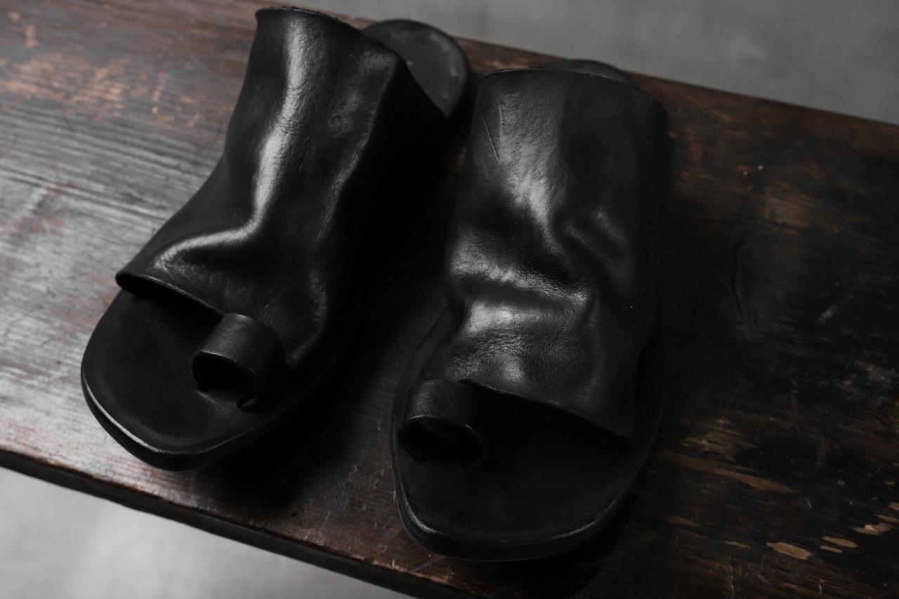 DIMISSIANOS & MILLER mule w toe-ring sandals / calf leather full grain
