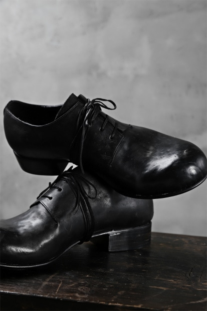DIMISSIANOS & MILLER derby whole-cut with extended tongue shoes / culatta leather