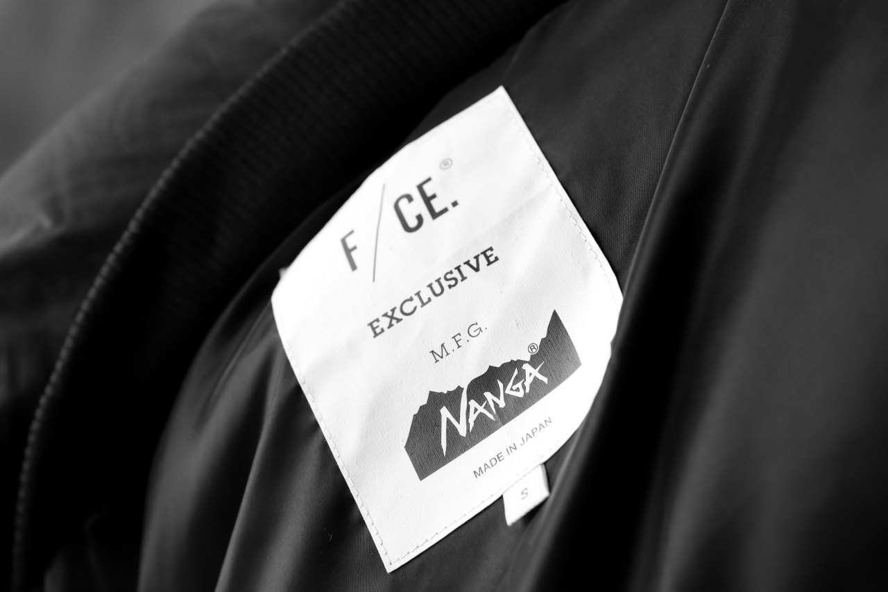 F/CE x NANGA exclucive FT HALF DOWN COAT / EUROPIAN DUCK