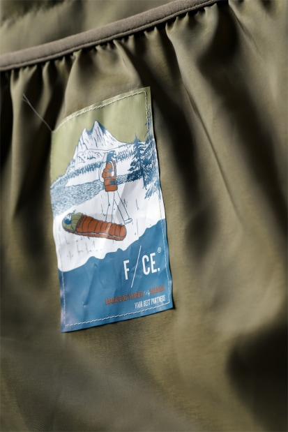 F/CE x NANGA exclucive FT HALF DOWN COAT / EUROPIAN DUCK