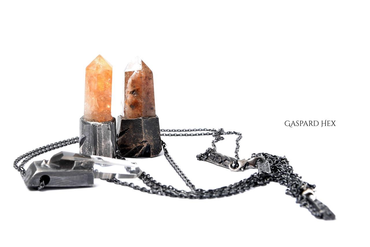 Gaspard Hex Jewelry(ギャスパーヘックス) LOOM OSAKA 別注 天然水晶ネックレス