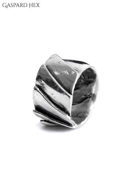 GASPARD HEX GASPARD HEX Solar Ring sterling silver