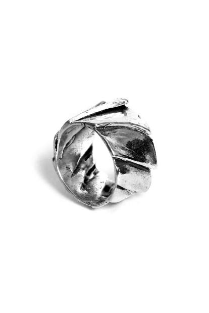 GASPARD HEX GASPARD HEX Solar Ring sterling silver