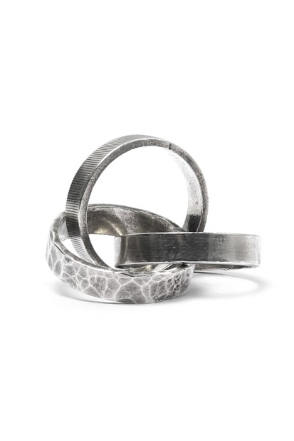 Holzpuppe Trinity Silver Ring (HR-1226)