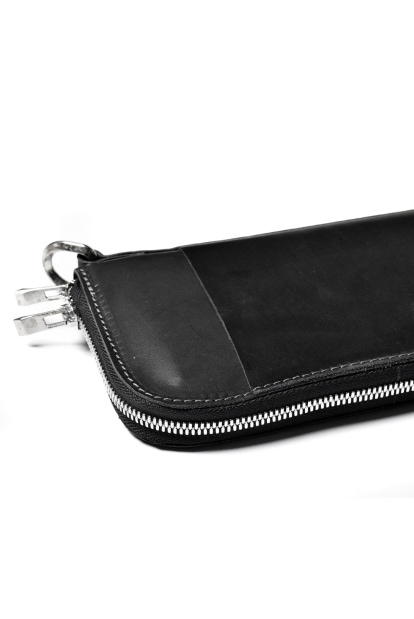 incarnation CALF SHOULDER LEATHER SQ ZIP WALLET 2