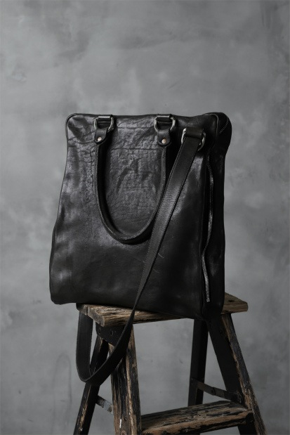 incarnation CALF LEATHER ZIP TOTE/SHOULDER 2WAY BAG