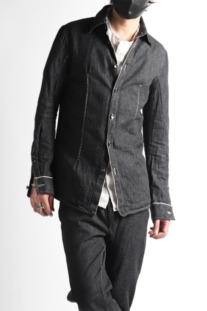 incarnation CHAMBRAY BUTTON DOWN SHIRT / ONE WASHED 6.5oz CHAMBRAY