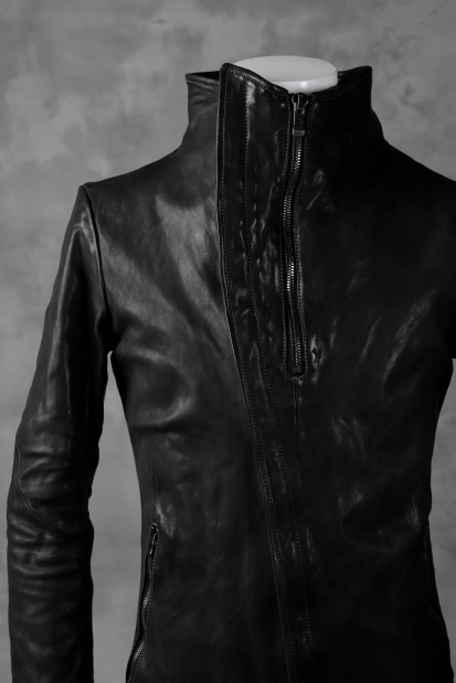 incarnation exclusive DUALFACE ZIP JACKET (OBJECT DYE/TANNED HORSE) *Stitchless