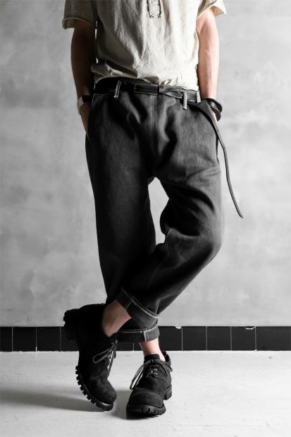 linea_f by incarnation Selvedge Drop Clotch Cropped Pants