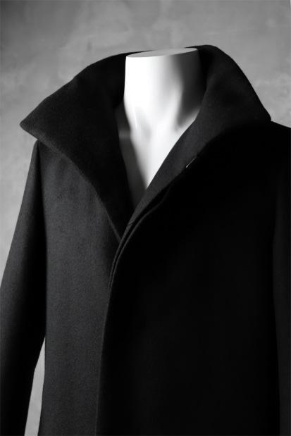 ATTACHMENT by KAZUYUKI KUMAGAI Stand Collar Coat [CASHMERE DOUBLE MELTON]