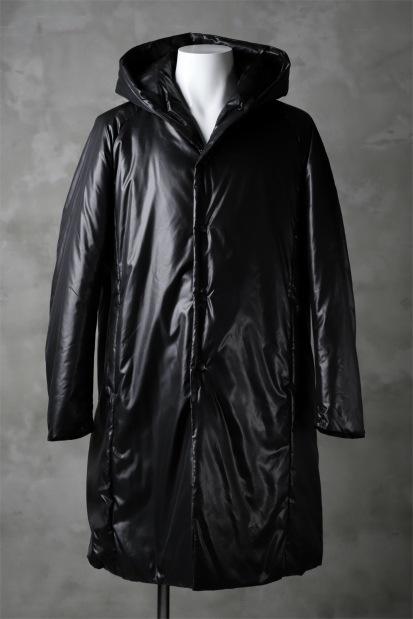 ATTACHMENT by KAZUYUKI KUMAGAI Removal Hoodie Down Coat [PEACH SKIN x CLIMASHIELD]