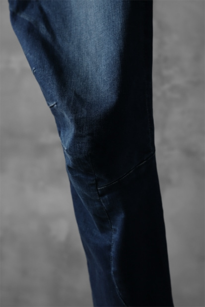 ATTACHMENT Easy Moto Pants [Satain High Power Stretch Denim]