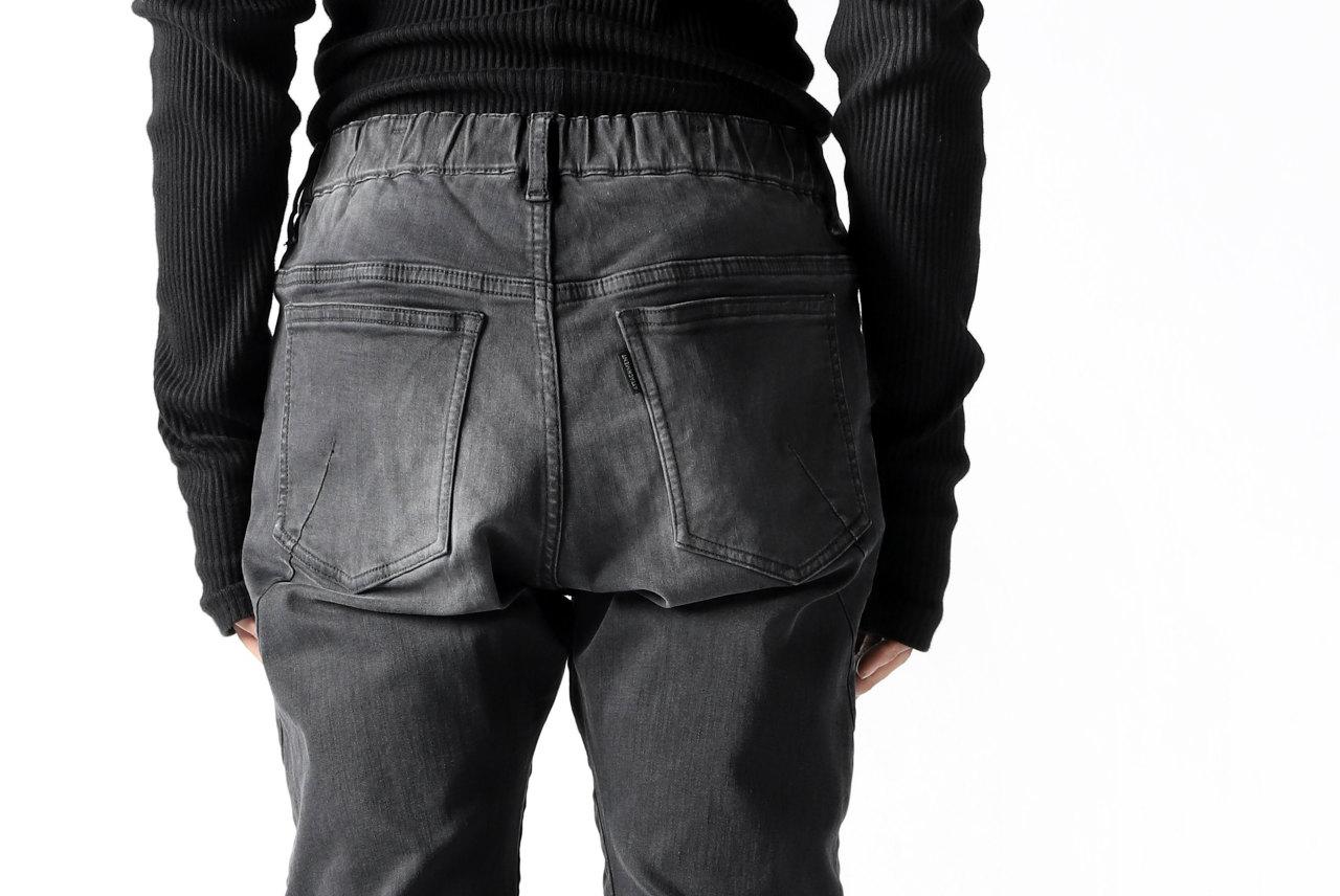 ATTACHMENT Easy Moto Pants [Satain High Power Stretch Denim]