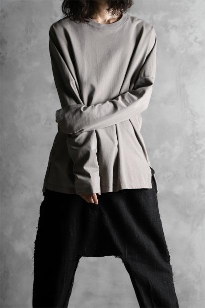 KAZUYUKI KUMAGAI Crew Neck Dolman L/S Tee [Soft Organic Cotton]