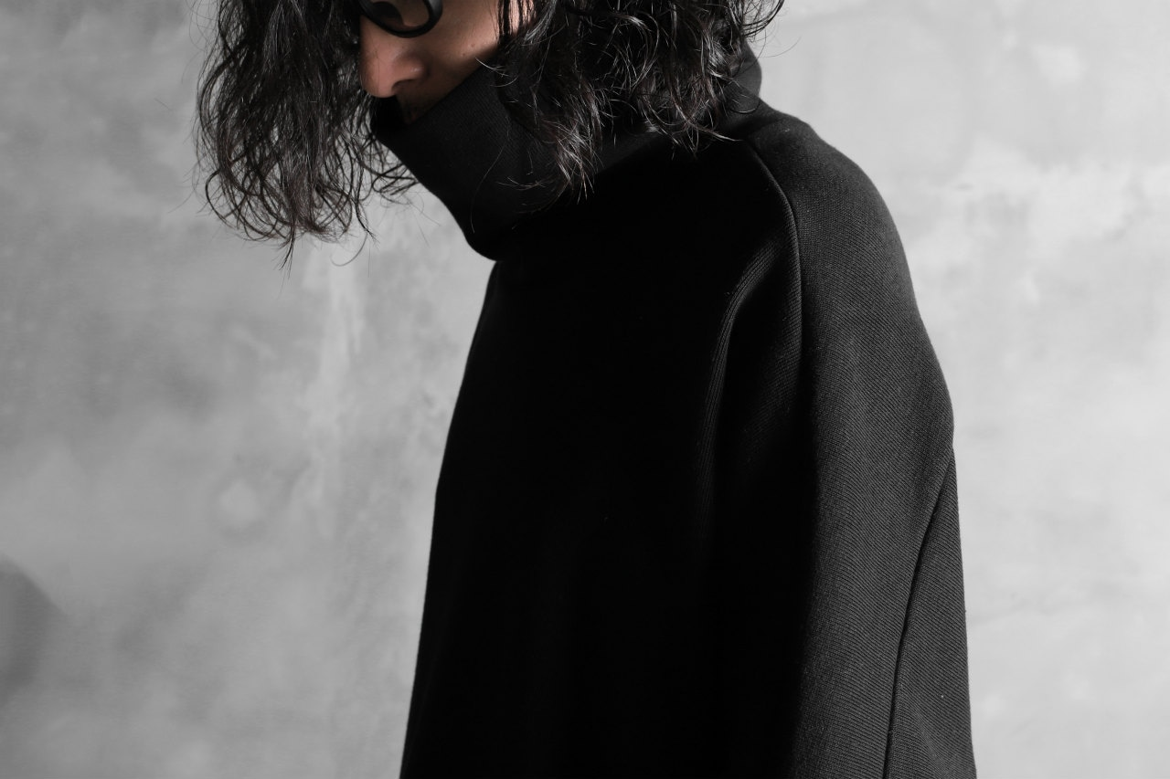 KAZUYUKI KUMAGAI Turtle Neck Dolman Sleeve Tops [DOUBLE FACE KNIT]