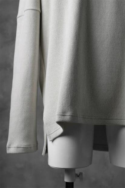 KAZUYUKI KUMAGAI Turtle Neck Dolman Sleeve Tops [DOUBLE FACE KNIT]