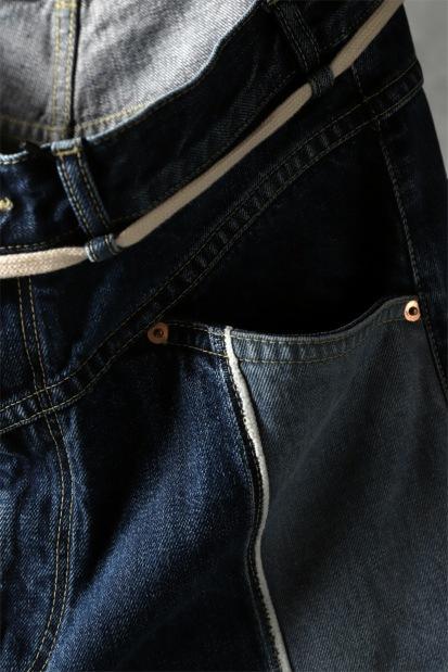 KAZUYUKI KUMAGAI Pedal Pusher Pants [13.5 oz Denim]