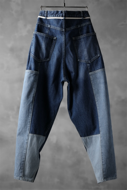 KAZUYUKI KUMAGAI Pedal Pusher Pants [13.5 oz Denim]