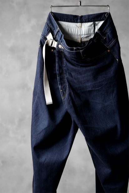 KAZUYUKI KUMAGAI Oversized Wrap Pants [11 oz Old Straight Denim]