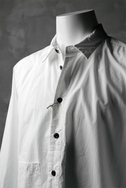 KLASICA SABRON BUTTON FRY SHIRT / TYPE-WRITER CLOTH
