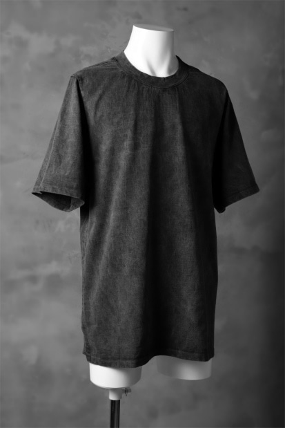 KLASICA RELAX SIZED SQUARE TEE / GARMENT PIGMENT DYED