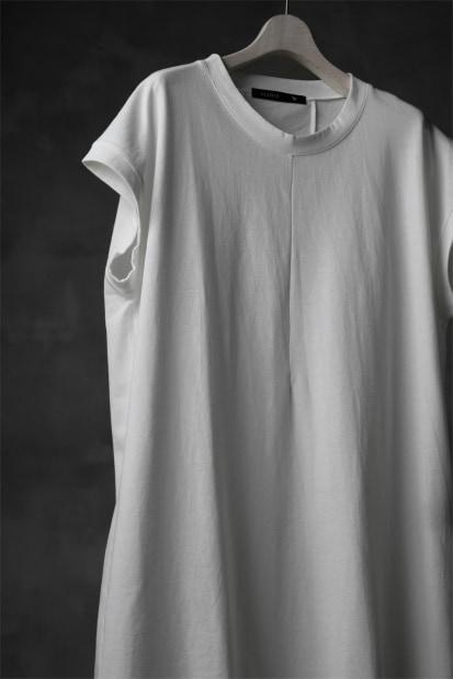 KLASICA LUNG CAP SLEEVE LONG  CUT & SEWN / DRY TWILL JERSEY