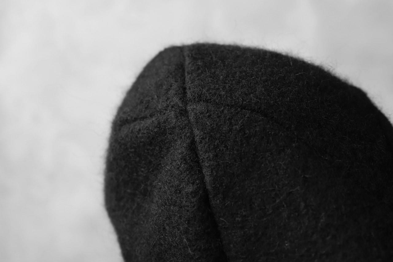 LEON EMANUEL BLANCK DISTORTION BEANIE / BABY ALPACA