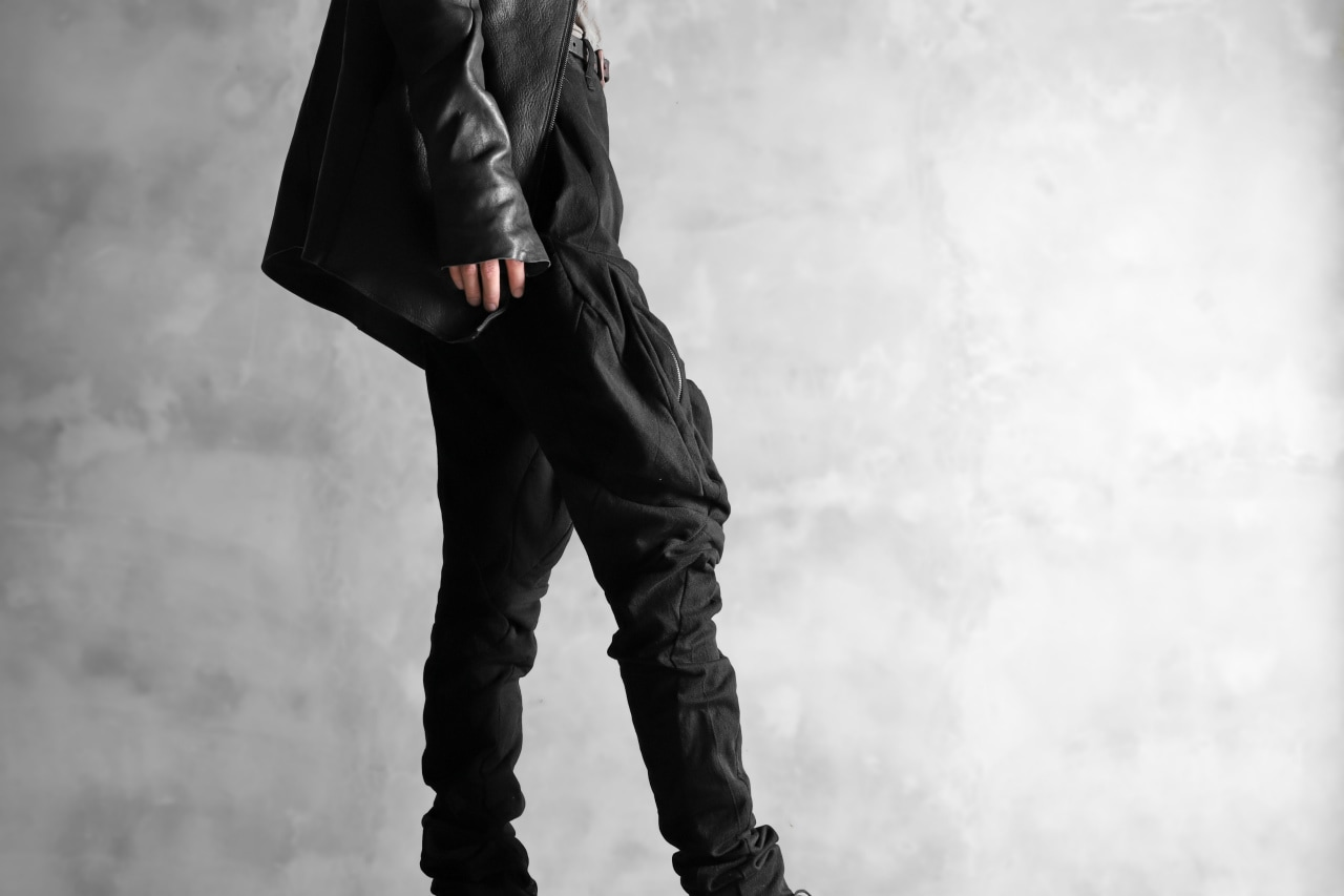 LEON EMANUEL BLANCK exclusive DISTORTION MUSCLE POCKET PANTS / MORPH TWILL