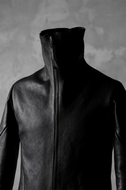 LEON EMANUEL BLANCK exclusive FORCED STRAIGHT JACKET / GUIDI HORSE LEATHER